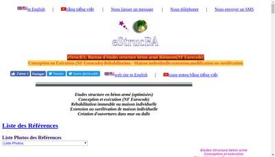 Site internet de Estrucba