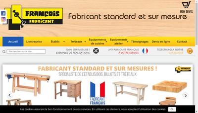 Site internet de SARL Francois