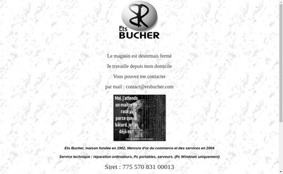 Site internet de Sa Bucher