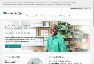 Site internet de Continental Pharmaceutique