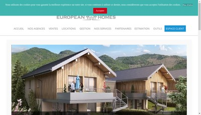 Site internet de Eurigest