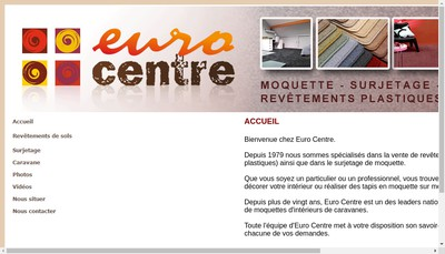 Site internet de Euro Centre
