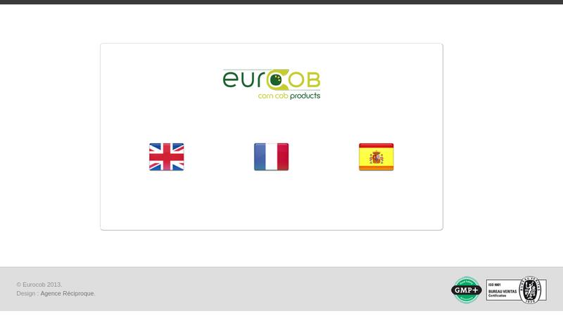Capture d'écran du site de Eurocob