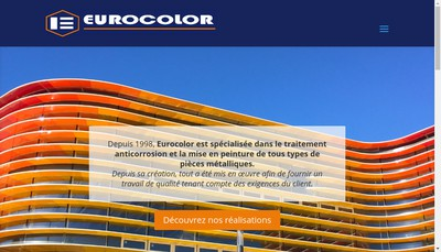Site internet de Eurocolor