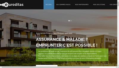 Site internet de L'Europeenne d'Audit en Assurances