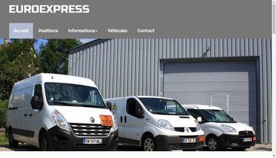 Site internet de Euroexpress