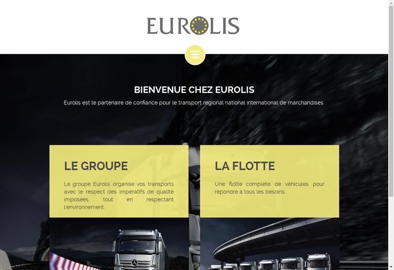 Capture d'écran du site de Eurolis