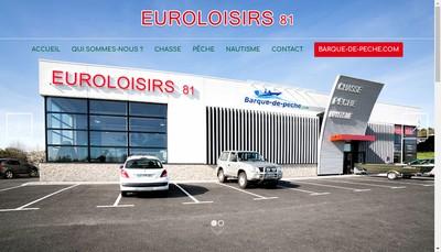 Site internet de Euroloisirs 81