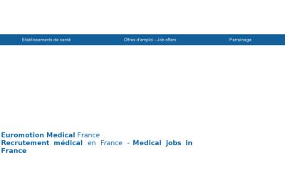 Capture d'écran du site de Euromotion