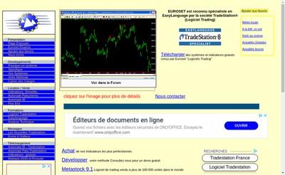 Site internet de Euroset