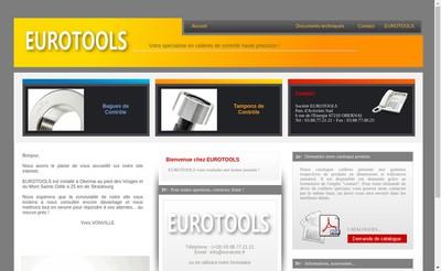Site internet de Eurotools