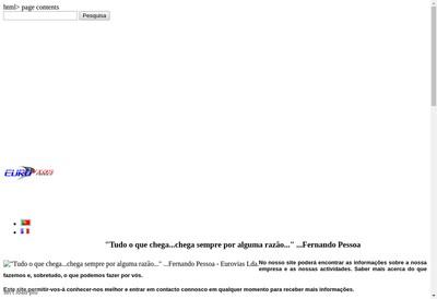 Site internet de Eurovias France