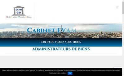 Site internet de Evam-Gid