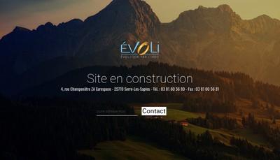 Site internet de Evoli