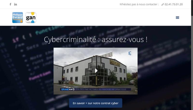 Capture d'écran du site de Espace Performance