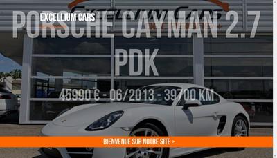 Site internet de Excellium Cars