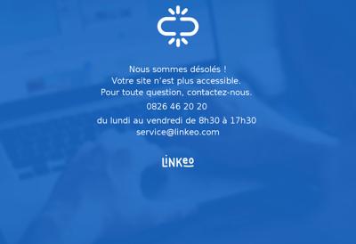 Capture d'écran du site de Ingenica