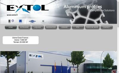 Site internet de Extol France