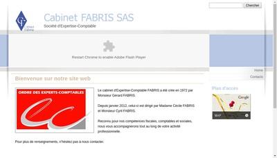 Site internet de Cabinet Fabris