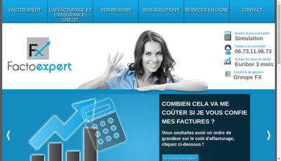 Site internet de Implid Factor