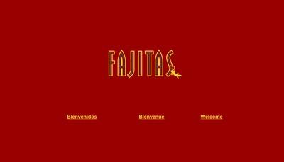 Site internet de Fajitas