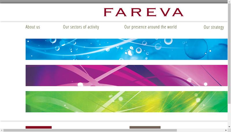 Capture d'écran du site de Interspray
