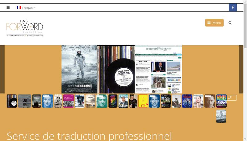 Capture d'écran du site de Fast For Word