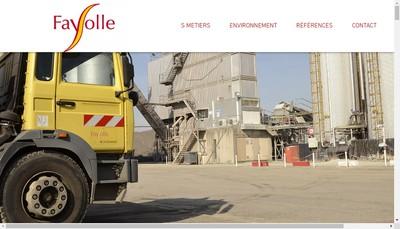 Site internet de Fayolle Desamiantage