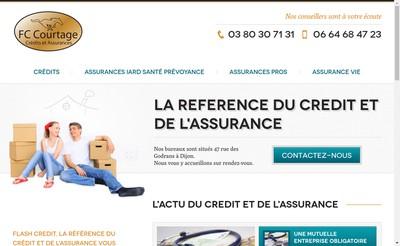 Site internet de FC Courtage