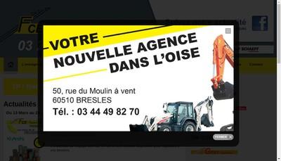 Site internet de Societe Nouvelle Fce Tp