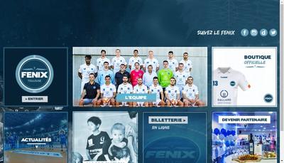 Site internet de Sasp Toulouse Handball