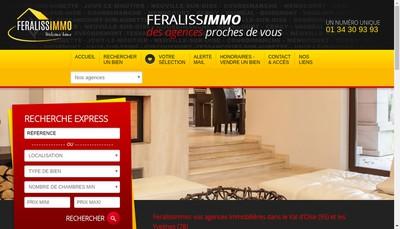 Site internet de Jouy Immobilier