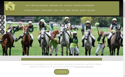 Site internet de Domaine de la Haute Hairie