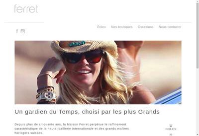 Site internet de Ferret