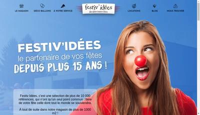 Site internet de Festiv'Idees