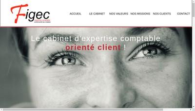 Site internet de Finance Gestion Expertise Comptable