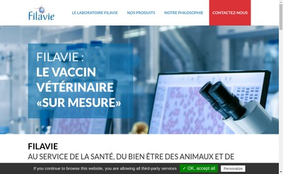 Site internet de Filavie