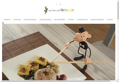 Site internet de Les Films de l'Arlequin