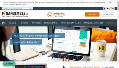 Site internet de Finansemble