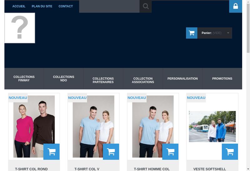 Capture d'écran du site de Finway