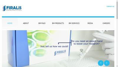 Site internet de Firalis