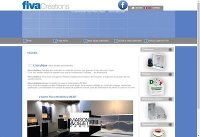 Site internet de Fiva Creations
