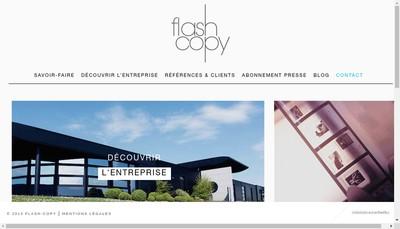 Site internet de Flash Copy