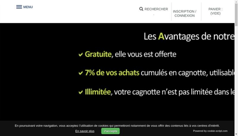 Capture d'écran du site de Nantes Bouhier