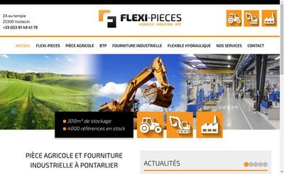 Site internet de Flexi-Pieces