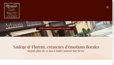 Site internet de Florenade