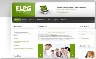 Site internet de Flpg Software