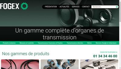 Site internet de Fogex SA