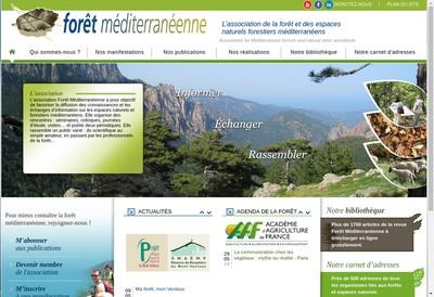 Site internet de Foret Mediterraneenne