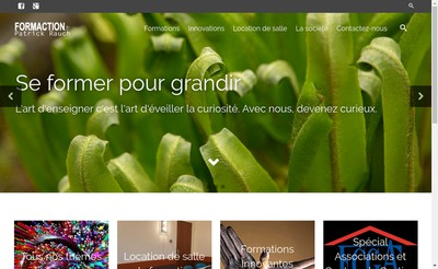 Site internet de SARL Formaction